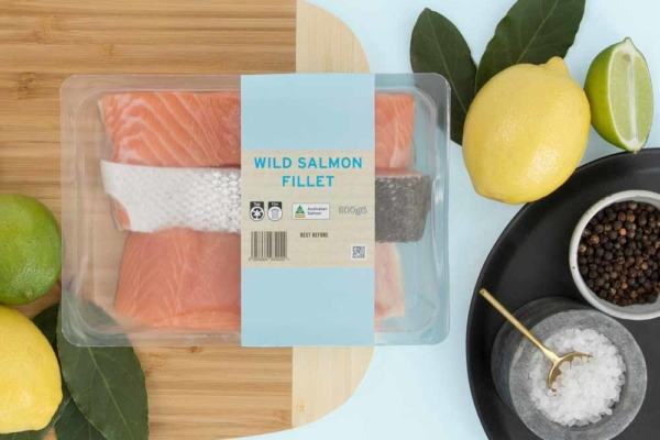 PCR PET Roll - Salmon